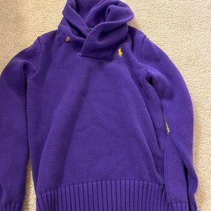 Ralph Lauren purple sweater, size M